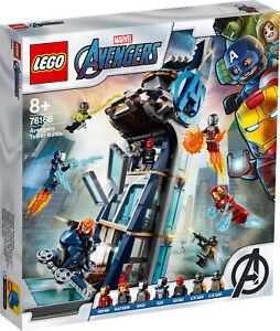 76166-Lego-Marvel-Avengers-Movie-4-Avengers-Tower-battle-set-685-pieces-8-Ans