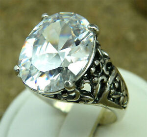 Lovely-Synth-Zirconia-amp-Silver-Designer-Ring-ERG0423-N