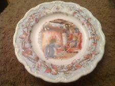 "Royal Doulton Brambly Hedge Winter 8.25"" 20cm Plate"