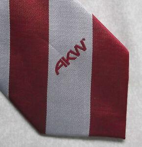 La Fourniture Vintage Cravate Homme Cravate Société Corporate Club Association Akw-afficher Le Titre D'origine DernièRe Mode