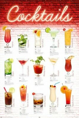 Leinwandbild Canvas Print Wandbild für Küche Longdrink bunte Cocktails Nr HS3632