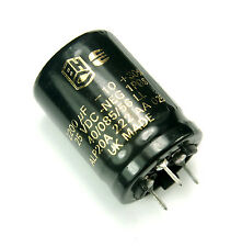 2pcs BHC 2200uF 25v Radial Electrolytic Capacitor UK Made ALP20A New