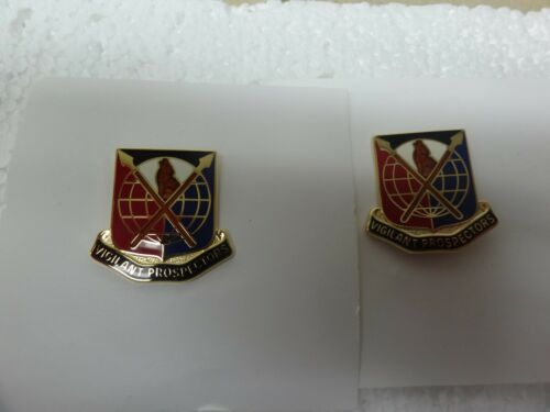 MILITARY INSIGNIA CREST DUI SET OF 2 904TH CONTINGENCY CONTRACTING VIGILANT PROS