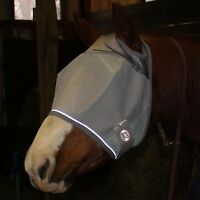 Derby Reflective Horse Fly Mask Without Ears 1 Yr Limited Warranty First In Usa