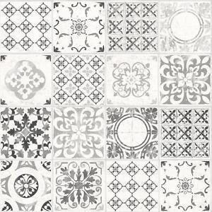 Details About Grandeco Porto Floral Wallpaper Baroque Motif Kitchen Bathroom Textured A22904