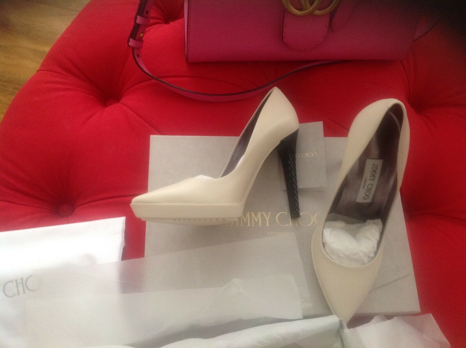 JIMMY JIMMY JIMMY CHOO superbe taille 3 chaussures 84a5ab