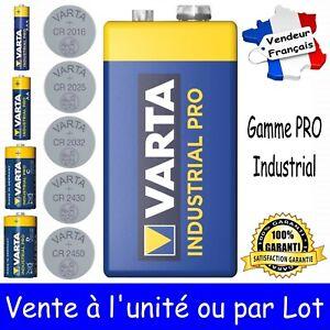 VARTA BULK 6LR61 Dispo aussi Piles LR14 LR20 LR03 LR6 CR2016 2025 2032 2430 2450