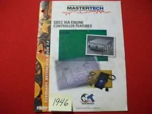 MASTERTECH-SBEC-IIIA-ENGINE-CONTROLLER-FEATURES-1999-DAIMLERCHRYSLER-MOTORS