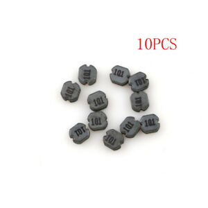 10Pcs-CD32-100uH-101-SMD-Power-Inductors-Diameter-3mm-High-2mm-BR