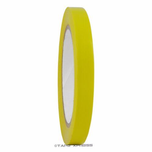 """1//2/"""" x 108/' Yellow Vinyl Adhesive Pinstriping Tape Lane Marking Car Decor Strip"""