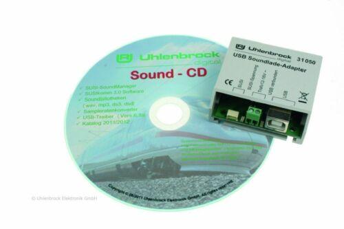 Uhlenbrock 31080  USB Sound-Ladeadapter #NEU in OVP#