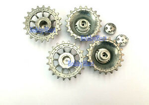 Heng-Long-3818-079-METAL-DRIVE-WHEELS-for-1-16-3818-RC-Tank-Replacement-x-1-PAIR