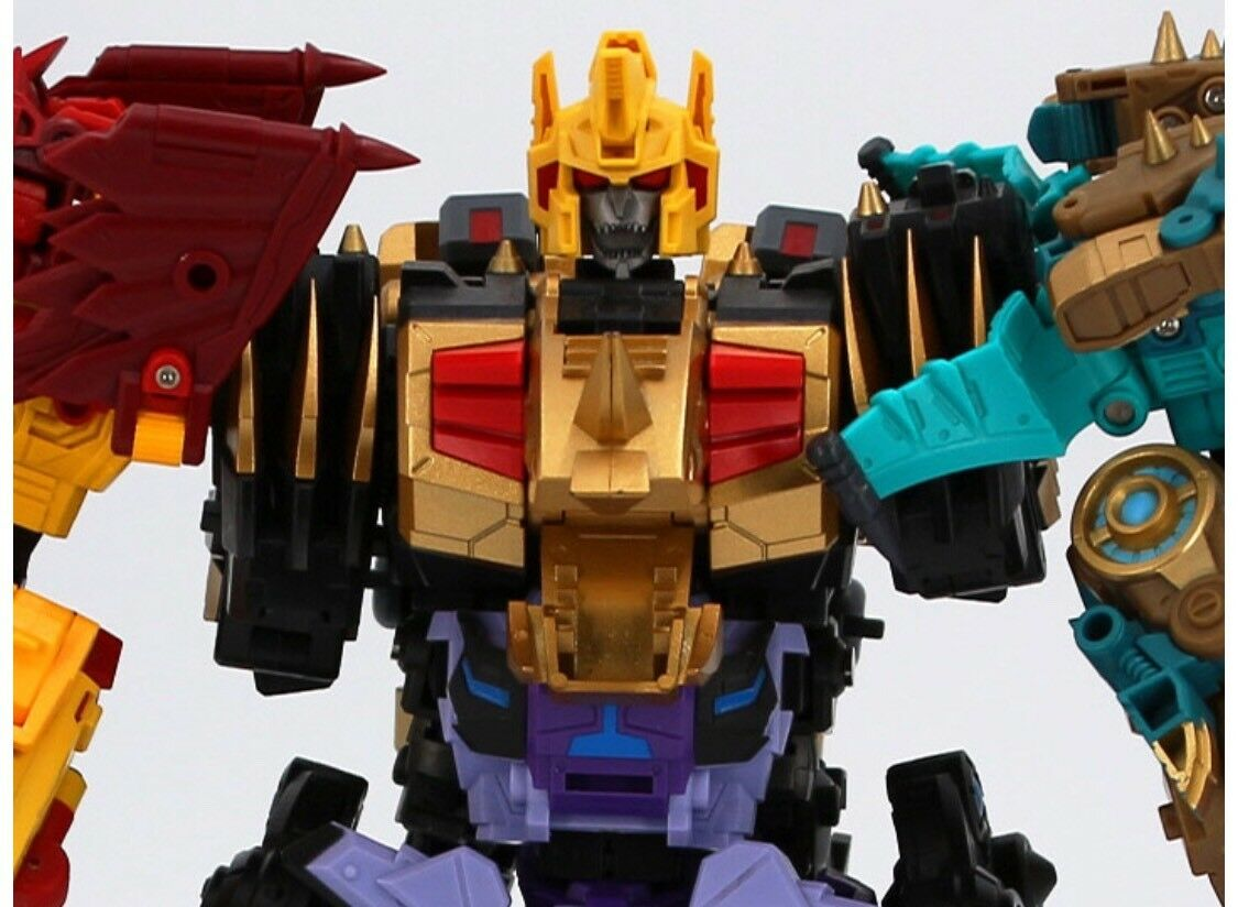 Transformers Beastructor Combiner Set US Seller Saurus Ryu-Oh