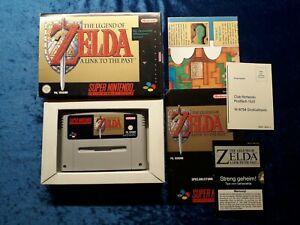 THE LEGEND OF ZELDA * Nintendo SNES * PAL * Anleitung * Karte * OVP *