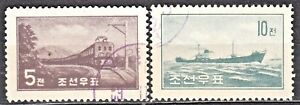 KOREA-1959-used-SC-201-02-set-Electric-Lokomotive-Freighter