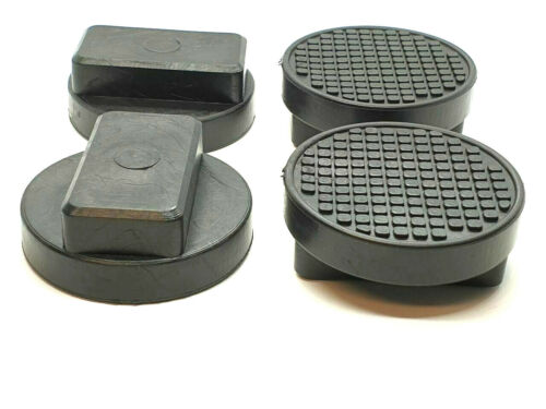 4x para BMW Mini grabación hebebühne wagenheberaufnahme goma adaptador de bloque