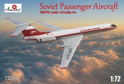 Amodel 1 72 Tupolov Tu-134 Interflug