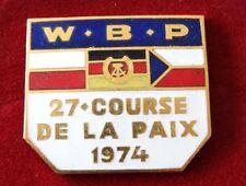Friedensfahrt 1974 - 27. Course de la paix - emailliert -