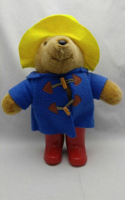 51a6efbf851 Paddington Bear Eden Plush Yellow Hat Red Boots
