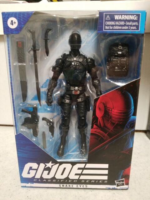 "Hasbro 6"" GI Joe Classified SNAKE EYES Action Figure Free Ship Toys Sale In Hand"