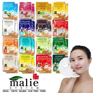 Gesichtmaske-Essence-35pcs-Malie-Hautpflege-Essence-Moisturizing-Revitalizing