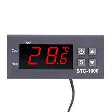 Temperature Controller Thermostat Aquarium STC1000 Incubator Cold Chain Temp F5