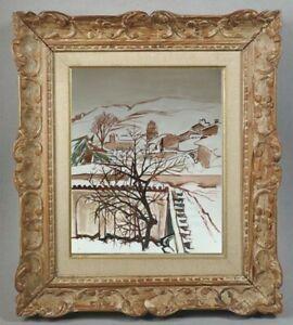 Decouverte d' une grande painter painting // for Estagel winter pyrenees (69)