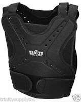 Black Body Armor Tactical Paintball / Airsoft Chest / Back Protector Black.
