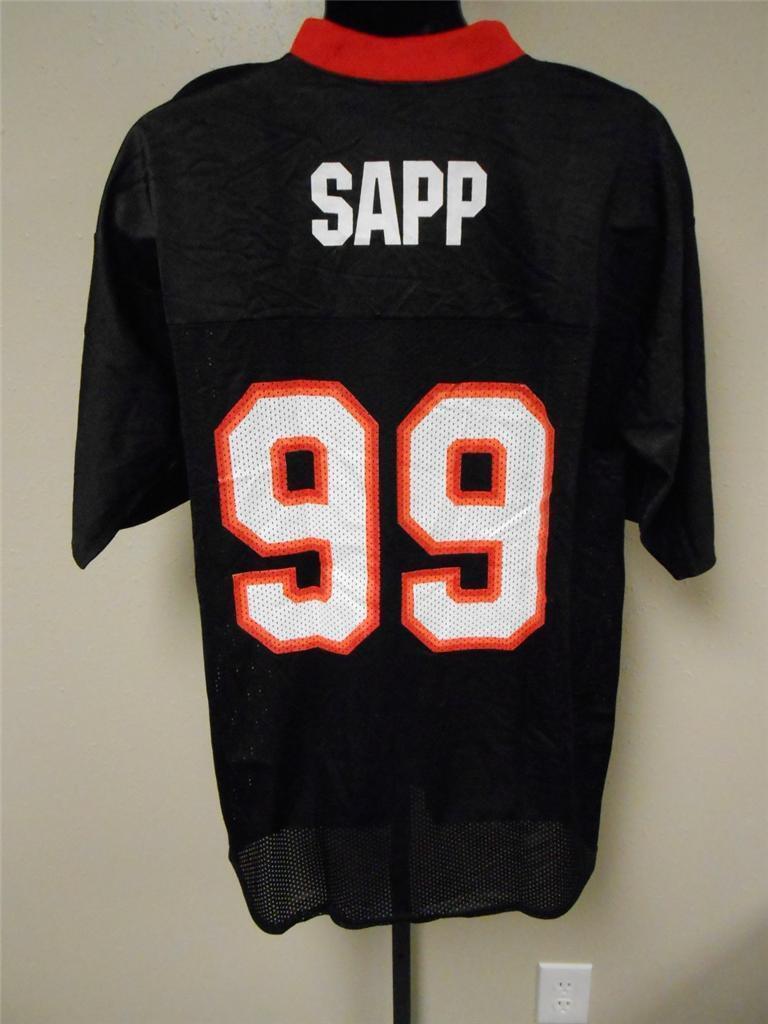 Nuevo  99 Warren Warren Warren Sapp Tampa Bay Buccaneers Reebok Camiseta Hombre Tallas M-L-XL  buscando agente de ventas