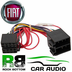 Fiat Punto MK3 20032005 Car Stereo Radio ISO Harness Wiring Cable