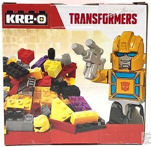 Transformers-KRE-O-Brick-Box-Bumblebee-77-pcs-Decepticon-Hasbro-KREO-Gold-Figur