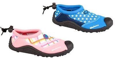 Kinder Aquaschuhe Badeschuhe Neoprenschuhe Größe: 25-34 zwei Modelle - NEU -