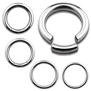 Segment-Ring-316L-Surgical-Steel-Belly-Navel-Tragus-Eyebrow-Nose-1-2mm-1-6mm