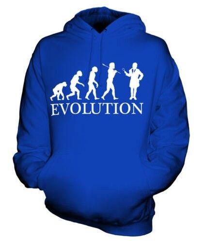 DETECTIVE EVOLUTION OF MAN UNISEX HOODIE MENS WOMENS LADIES GIFT