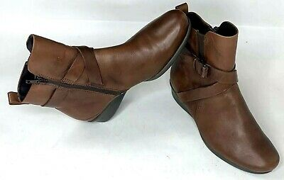 Ecco Felicia Womens Ankle Boots Brown