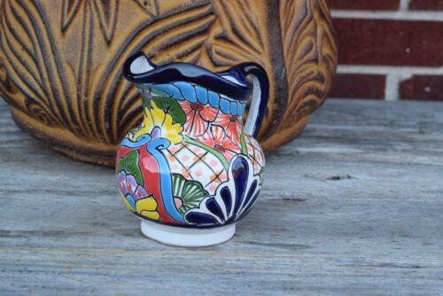 Talavera Ceramic Pitcher Home Kitchen Patio Garden Pottery Decor