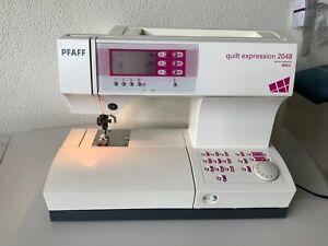 PFAFF Quilt Expression 2048 Nähmaschine mit Doppeltransport - Fensdorf, Deutschland - PFAFF Quilt Expression 2048 Nähmaschine mit Doppeltransport - Fensdorf, Deutschland