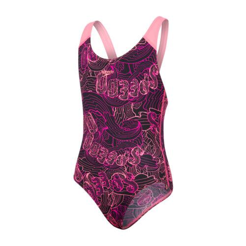 Speedo Candy Bounce Allover Splashback Girls Swimsuit