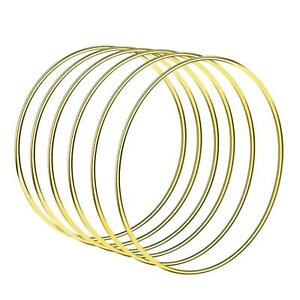 Welded-Metal-Ring-Craft-Hoop-Gold-DIY-Accessories-ada