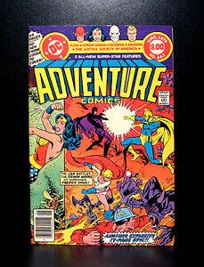COMICS-DC-Adventure-Comics-463-1979-68-pages-RARE-batman-flash-wonder