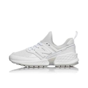 new balance bianche donna pelle