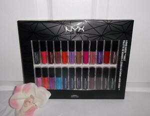 NYX Liquid Suede Cream Matte Lipstick Vault 24 Shades Holiday ...