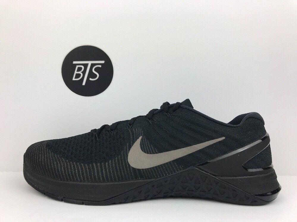 Men's Nike Metcon DSX Flyknit Size-11.5 Black Grey (852930 004)
