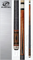 Players G-4120 Umber Stained Pool Cue W/ Free Shipping