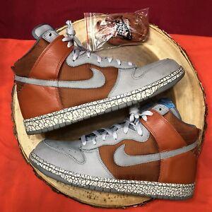 online store e50f6 367fe Image is loading Nike-Dunk-High-Zoom-PRM-SB-HUF-Earthquake-