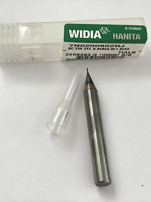 1.6mm END MILL 2fl Carbide Coated Slot Drill Cutter 6mm shank