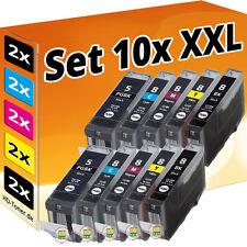 10 XL PATRONEN für CANON PIXMA IP3300 IP3500 IP4200 IP5200R IP4300 IP4500 MP970