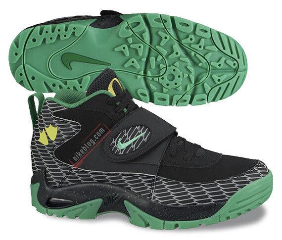 Nike Air Mission QS tamaño 7.Oregon entrenador Ducks, negro, verde 644103-001 entrenador 7.Oregon 5.0 TR1 157d47