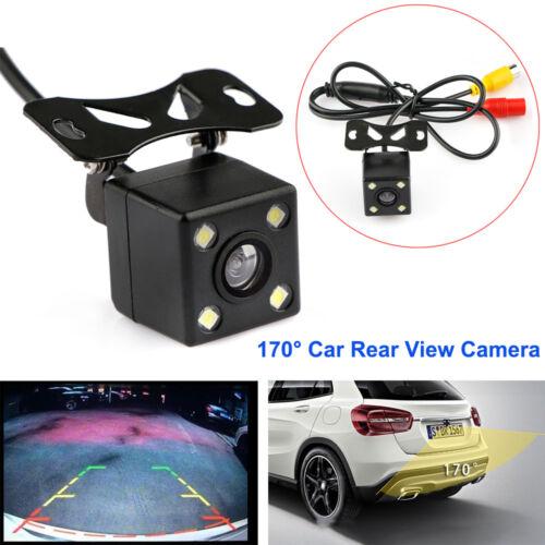 170° 4LED Car Rear View Backup Camera Parking Reverse Back Up Camera Waterproof