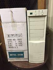 AT Tower Computer Case Enclosure Build PC Pentium 386 486 w/ POWER SUPPLY NEW